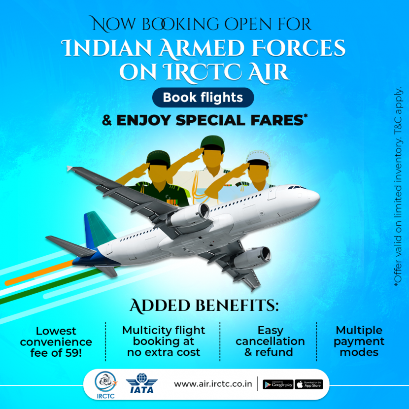 Armed Forces special fare or LTC fare